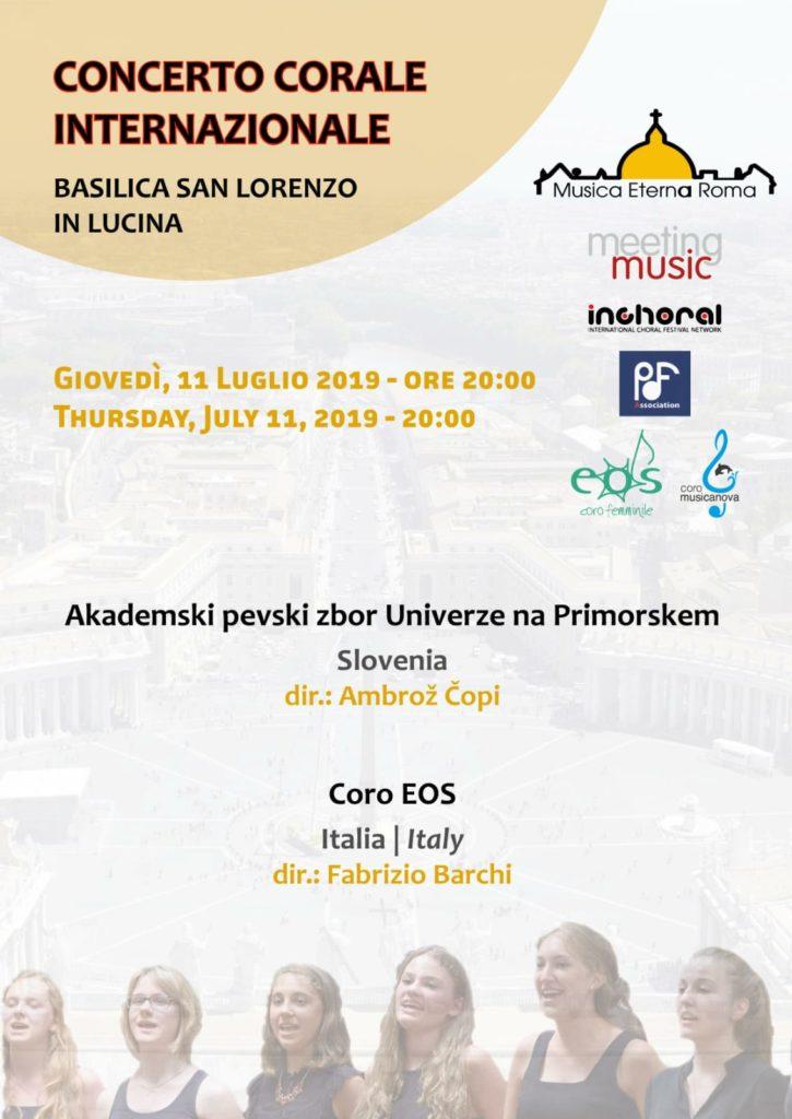 [:it]Concerto Musica Eterna Roma [:] @ Basilica di San Lorenzo in Lucina
